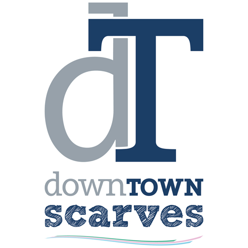 Logo downtownscarves.com