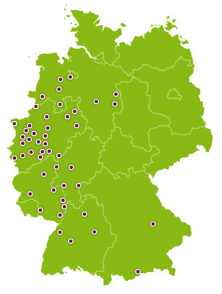 Equiva-Märkte in Deutschland