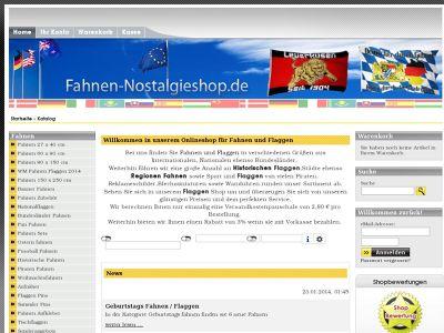Logo fahnen-nostalgieshop.de