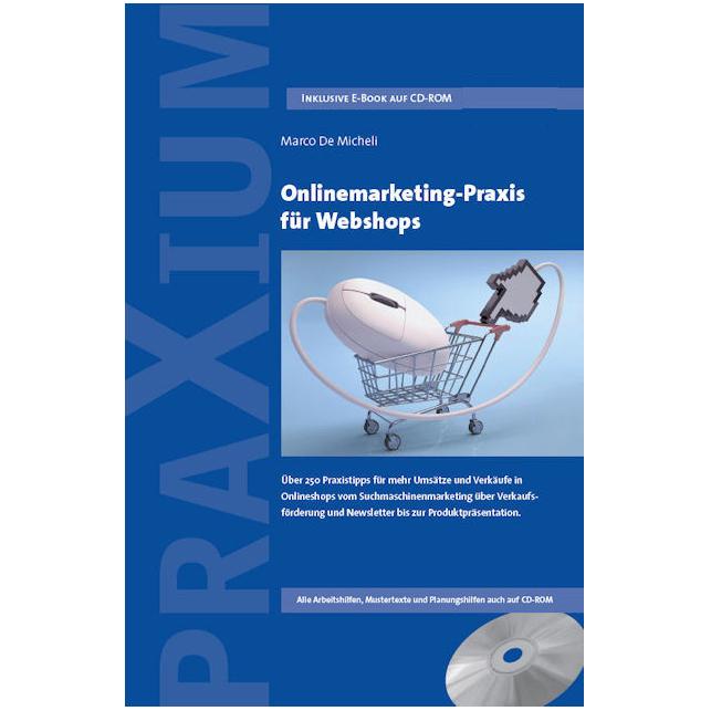 Buchcover Onlinemarketing-Praxis für Webshops