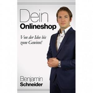 Onlineshop aufbauen Benjamin Schneider Buchcover